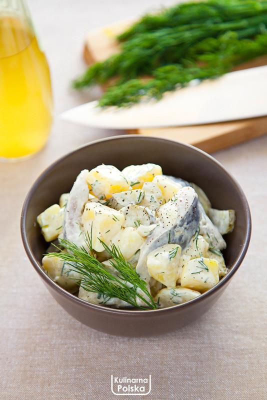 Kartoffelsalat Ze Sledziem Przepis Na Niemiecka Salatke Kulinarna